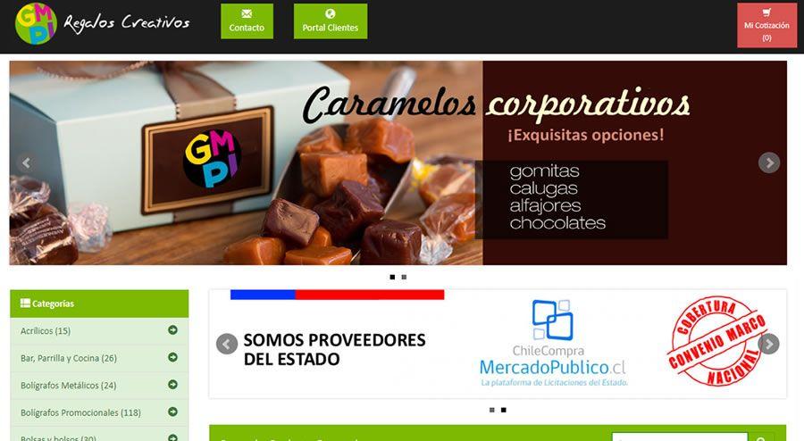 Campaña y reestructuración sitio GMPI