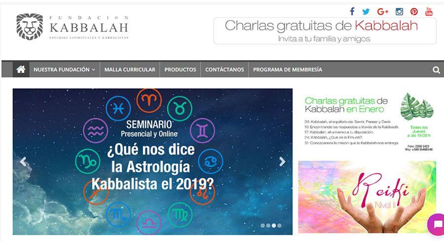 Diseño sitio web Kabbalistas